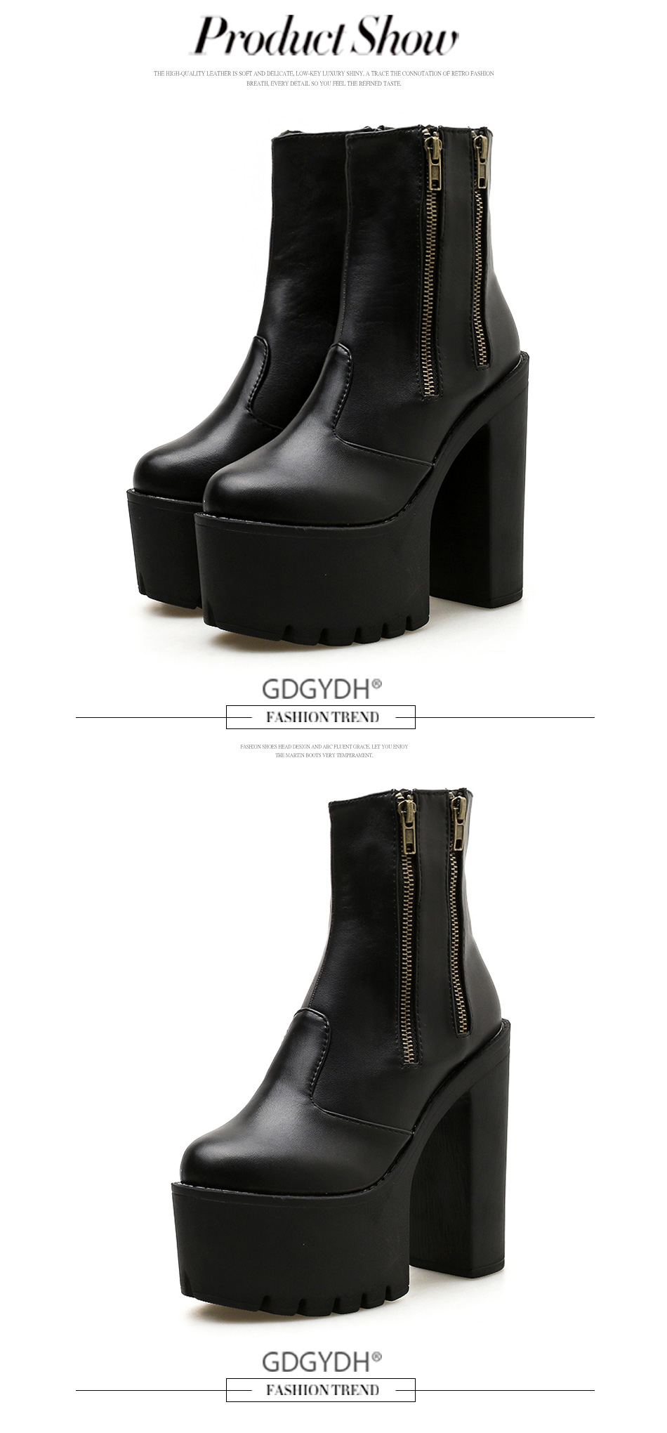e3722d95085 Detail Feedback Questions about Gdgydh 2018 Women Ankle Leather ...