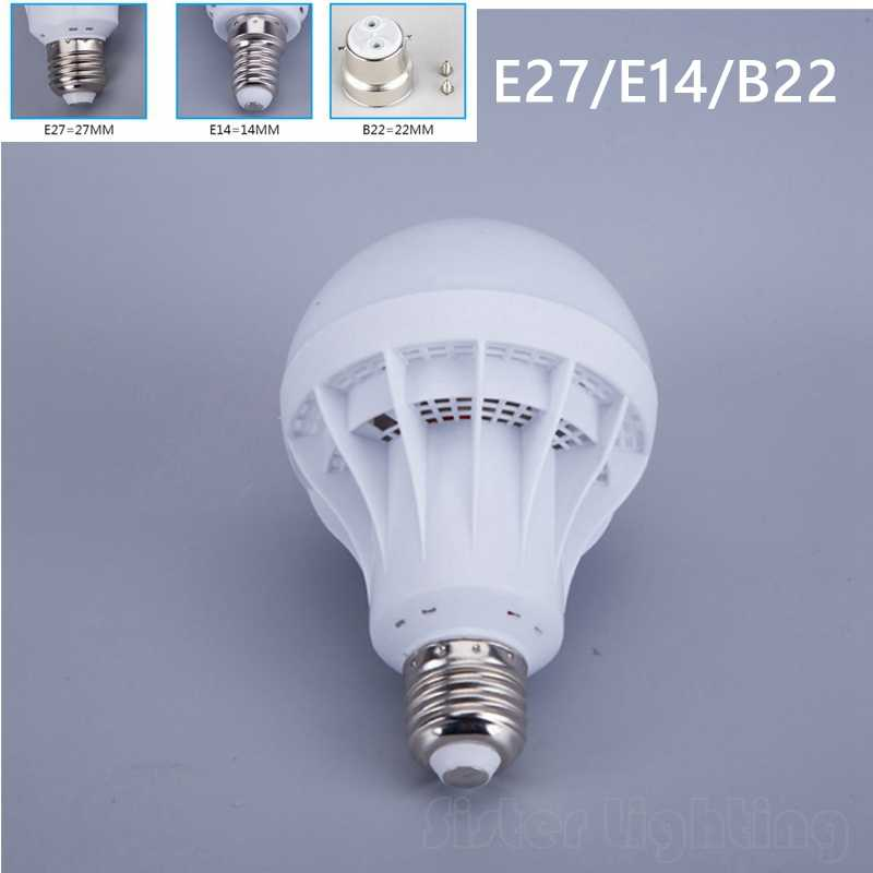 High Bright E14 E27 LED Lamp 220v Ball Bulb LED Light bulb 3W 5W 7W 9W 12W 15W Lampara Bombilla Ampoule spotlight SMD5730