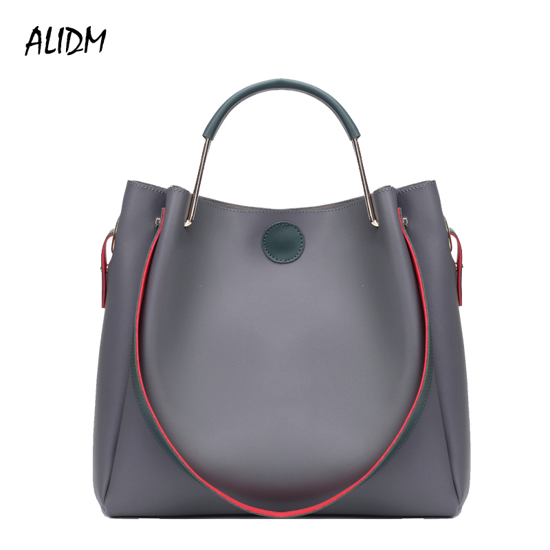 ALIDM Women 2 pcs/set Handbags Female Tote Bag Women Solid Shoulder Bags Women Messenger Bag PU Leather Handbag Composite Bag brand women bags messenger bags bolsas composite handbag set shoulder bag female handbag women leather handbag n101