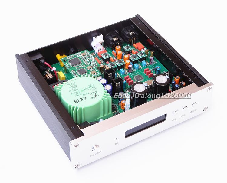 Finished ES9028PRO DAC DSD / XLR Output + Remote Control OPA1611A*4 + LME49990*2 For Home Amplifier