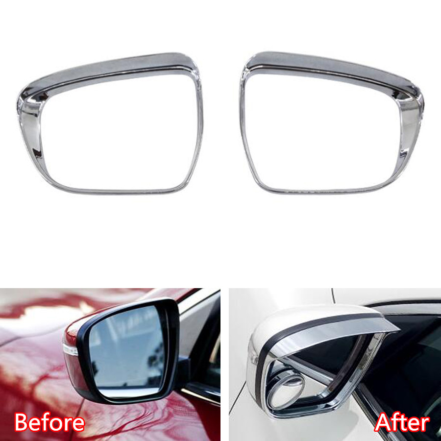 YAQUICKA 2Pcs/set Auto Car Exterior Rearview Mirror Frame Trim Styling Sticker For <font><b>Nissan</b></font> <font><b>Qashqai</b></font> <font><b>2016</b></font> Car-covers <font><b>Accessory</b></font> image