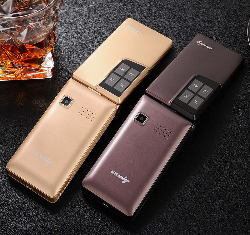 """Image 3 - Flip 2.8"""" screen original flip big keyboard cheap senior touch mobile phone Phone Elder clamshell Cell phones russian H mobile-in Cellphones from Cellphones & Telecommunications"""