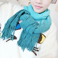 2016 New Fashion style Solid Color Women Winter Pashmina Cashmere Shawl Scraf Scarves wrap F045