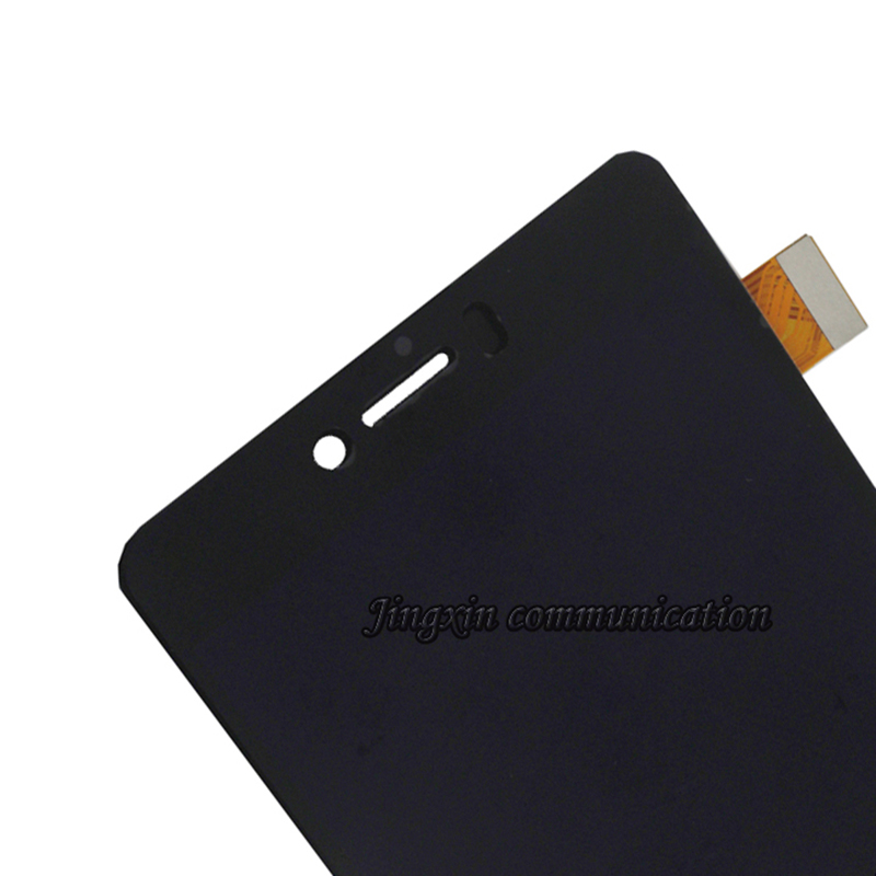 """Image 4 - 5.0"""" for BQ Aquaris U Lite LCD + touch screen digitizer assembly replaced with for BQ Aquaris U display repair parts with frame-in Mobile Phone LCD Screens from Cellphones & Telecommunications"""