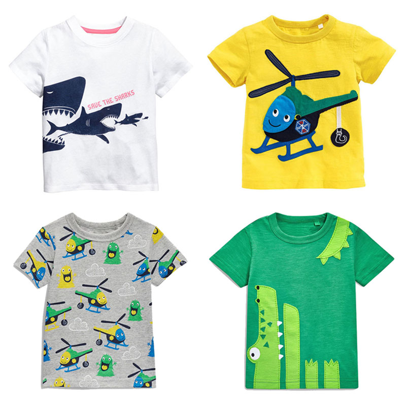 Brand New 2018 Summer Cotton Baby Boys Clothing Kids