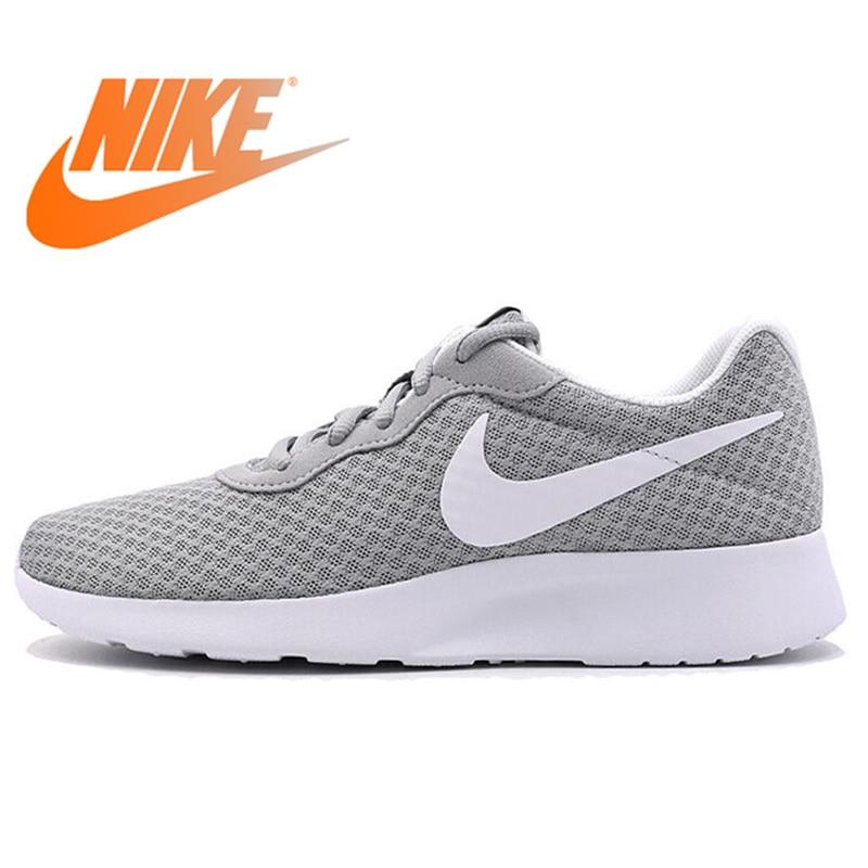 Originale Autentico Nike WMNS TANJUN LUNARE delle Donne Runningg Scarpe Sport Outdoor A Piedi Da Jogging Scarpe Da Ginnastica Traspirante 812655-010