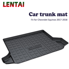 EALEN 1PC Car rear trunk Cargo mat For Chevrolet Equinox 2017 2018 Styling Boot Liner Tray Waterproof Anti-slip mat Accessories trunk mat for chevrolet cobalt 2013 2015 trunk floor rugs non slip polyurethane dirt protection interior trunk car styling