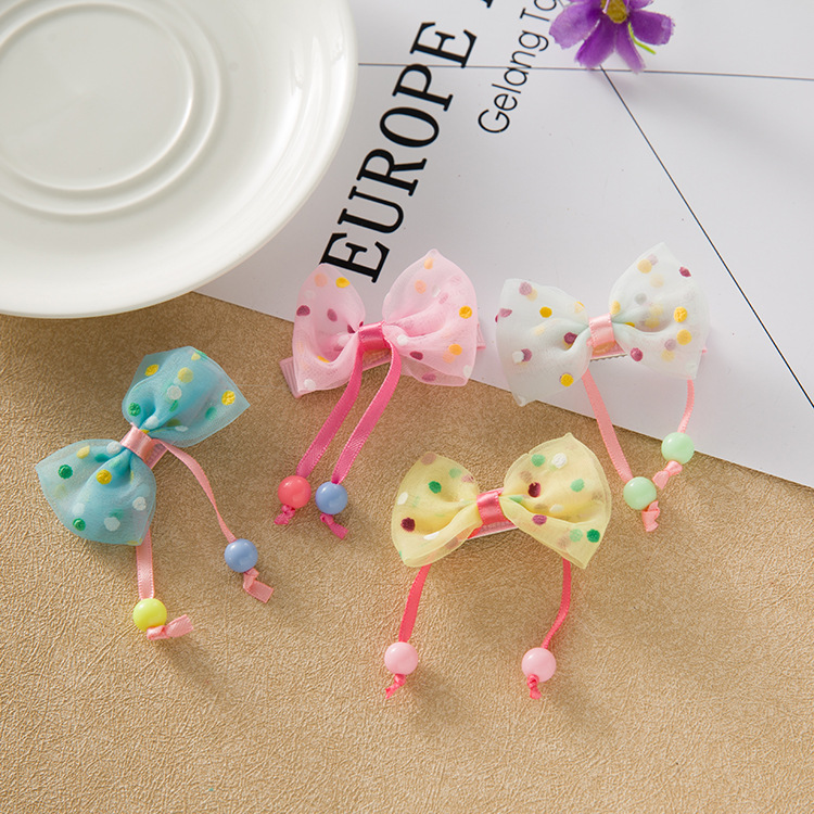 1Pcs Girl Hair Accessories Children's Cute Lace Bowknot Hair Clips Baby Girl Hairpin Child Hair Bow Ribbon Headdress halloween party zombie skull skeleton hand bone claw hairpin punk hair clip for women girl hair accessories headwear 1 pcs