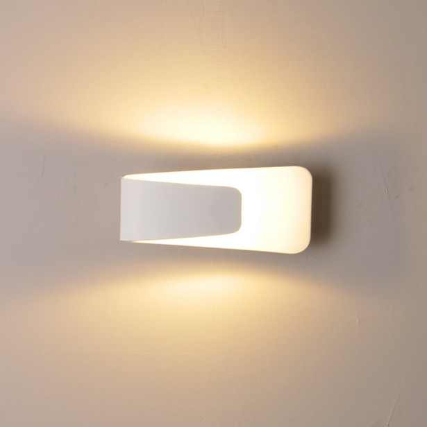 Led wall lamps indoor lighting fixture modern style aluminum simple wall sconce light 5W