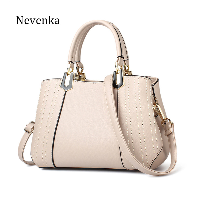 Nevenka 2017 New Summer Women Handbag Leather Bag Fashion Tote Zipper Shoulder Bags Quality Bag Lady Original Design Bags Sac nevenka women bags lady shoulder bag brand female flap mini bag evening bags pu leather tote style original design handbag sac