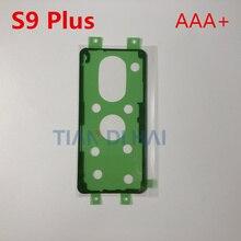2 шт./лот сзади Корпус двери Стикеры клеящим материалом для samsung Galaxy S9 плюс S9+ G965 G965F задняя клейкая Обложка лента