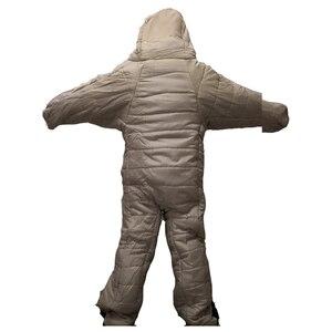 Image 5 - Уличный человеческий спальный мешок для взрослых весом 1,9 кг для использования в помещении и кемпинге на осень и зиму 2 размера