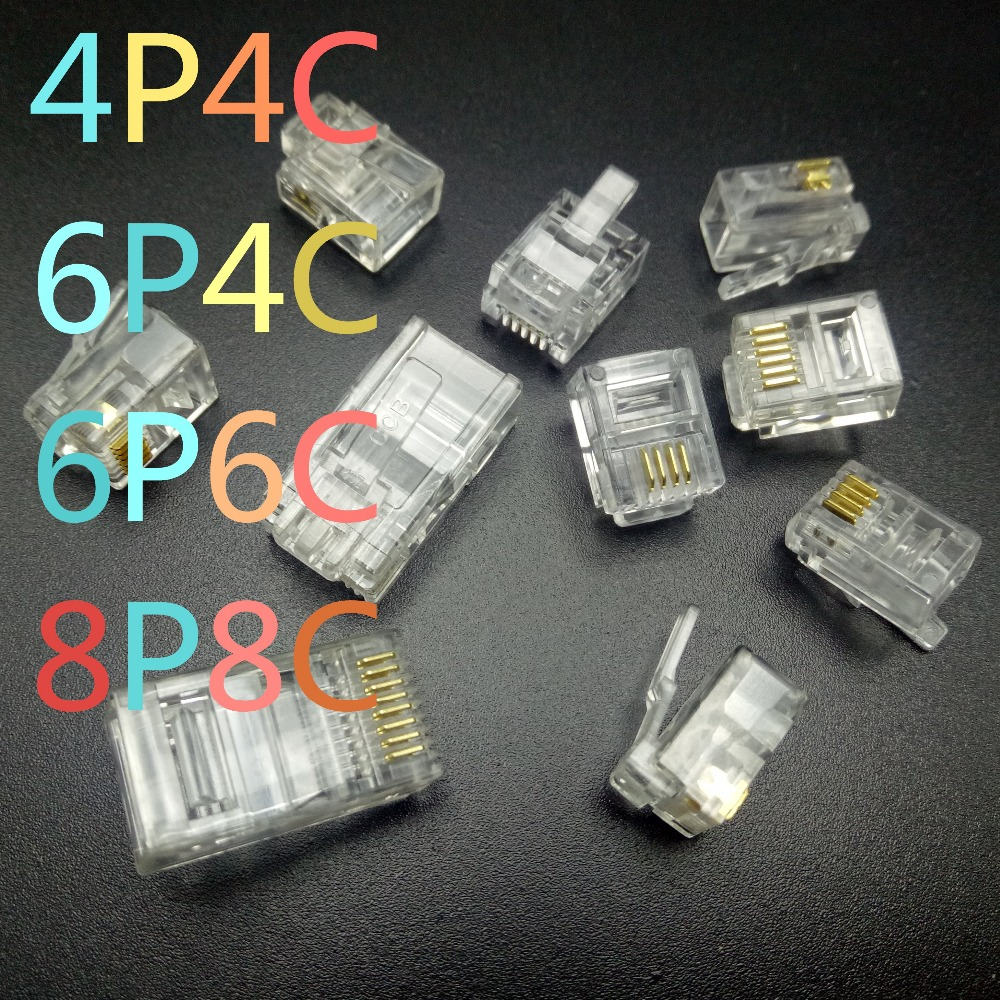 medium resolution of rj9 4p4c rj11 6p2c 6p4c 6p6c rj45 8p8c in connectors from lights lighting on aliexpress com alibaba group