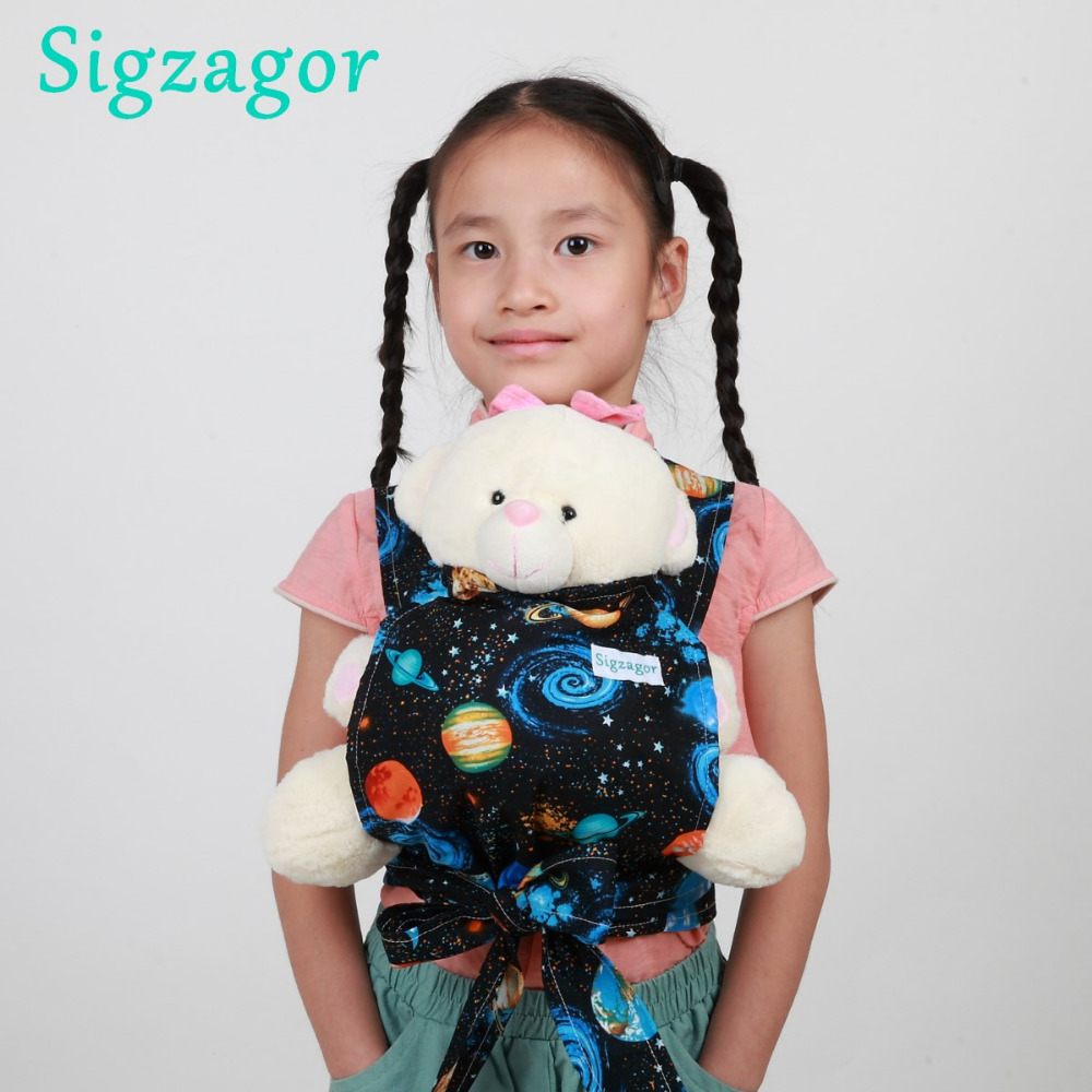 Baby Doll Carrier Sling Toy Children Toddler Gift Wrap Carrier Sling Adjustable For Kids 2-6 Year Backpacks & Carriers Mother & Kids