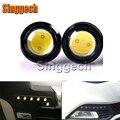 2X Car 18mm Eagle Eye Light 12V DIY DRL For Peugeot 307 206 308 407 207 2008 3008 508 406 208 For Citroen C4 C5 C3 C2