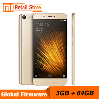 Original Xiaomi Mi5 Prime 3GB RAM 64GB ROM Mobile Phone Mi 5 Snapdragon 820 Quad Core 5.15 Inch 3D Glass body  16.0 MP Camera