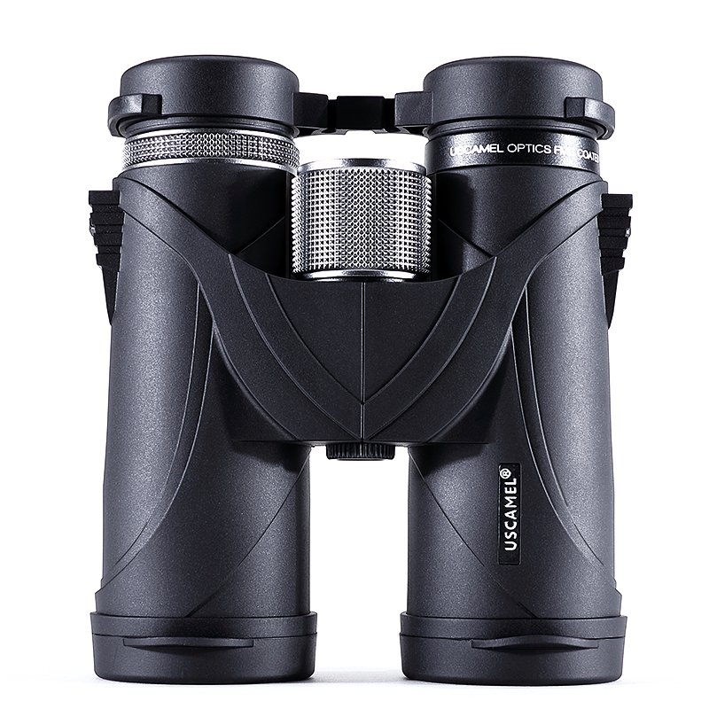 USCAMEL 8x42 Binoculars Professional Telescope Military HD High Power Hunting Outdoor,Black