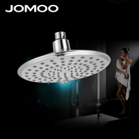 JOMOO Rain Shower Head 8 inch ABS plastic Rainfall Luxury Bathroom Bath Shower Top Over head Shower Sprayer Single Head Chrome