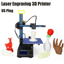 Creality CR-8 2 in 1 Aluminum Profile Laser Engraving 3D Desktop Printer LCD Screen Display 3D Desktop Printer DIY Kit