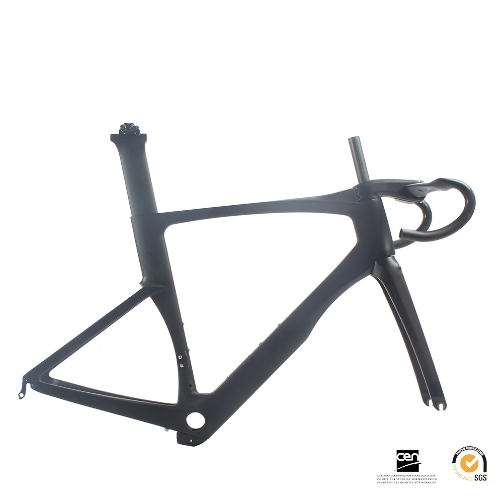 2018 ONE-PIECE T800 Carbon road frame full carbon bicycle frame ,Full Monocoque Frame