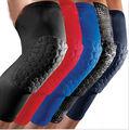 Honeycomb Pad Basketball Leg Knee Long Sleeve Brace Support Protector Gear new