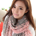 2016 Hot Spring Autumn Winter Women New Paris Yarn Scarf Women's Fashion Print Rayon Scarves Adult N0044, Free Shipping