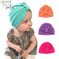 2016 New Baby Hat Solid Baby Caps Cotton Unisex Girls Boys Hats Newborn Photography Props Candy Color Beanies Accessories