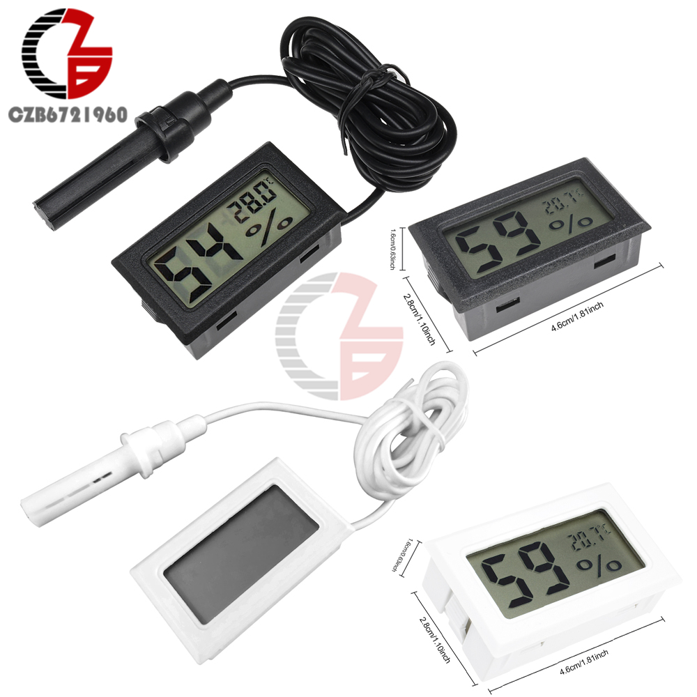THC-4 Mini LCD Digital Thermometer Hygrometer Air Temperature Humidity Meter