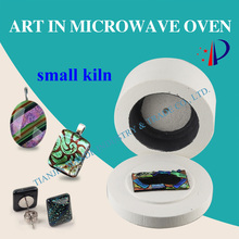 microwave fusing kiln for fused glass 2018 promotion sale small microwave kiln(China)