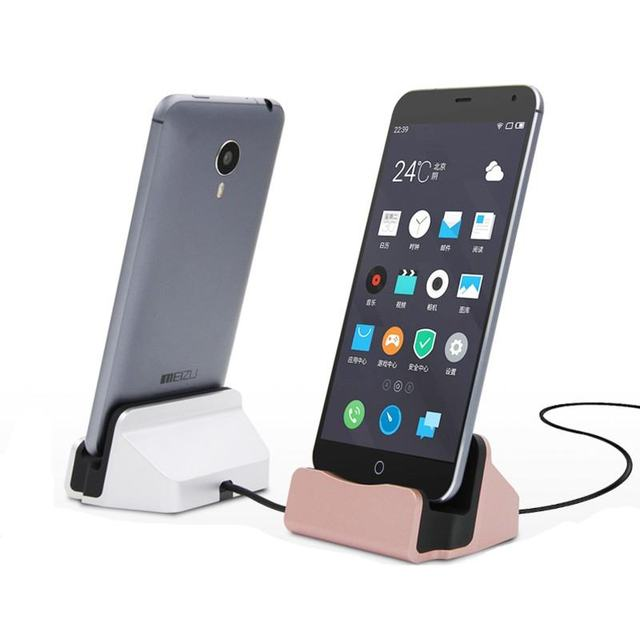 4df6b6544a3 Universal Phone Stand Holder Micro USB Charging Dock Station Charge Charger  for Samsung Galaxy S4 J5 Note 4 Oneplus HTC Android