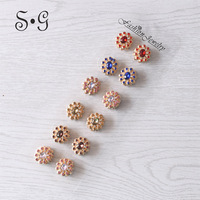 12pcs Classic Women Brooches Jewelry Fashion Scarf Buckle Crystal Brooches Muslim Headscarf Buckle for Lady Jewelry Brooches