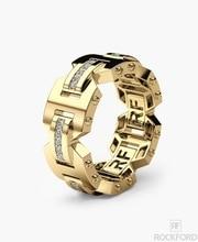 Female Crystal Zircon Stone Ring 925 Silver Rose Gold Color Finger Promise Engagement Rings For Women Mens