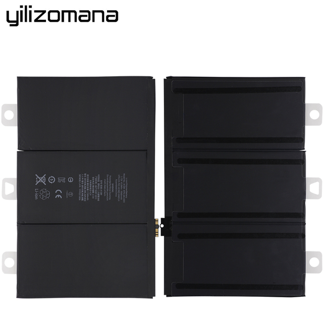 YILIZOMANA For iPad 3/4 rd Battery A1403 A1416 A1430 A1433 A1459 A1460 11560mAh A1389 Original replacement battery with Tools