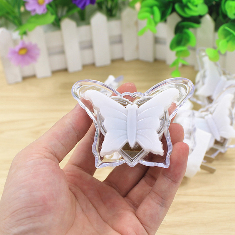 Butterfly Night Light Energy Saving Lovely Color RGB Romantic Wall Light Night Lamp Decoration Bulb For Baby Bedroom US Plug