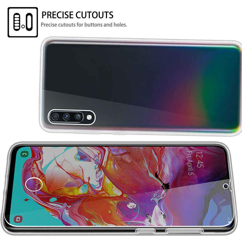 360 doble funda de silicona para Samsung Galaxy S10 S9 S8 más S10E S7 borde A6 A8 A7 2018 A10 A20 a30 A40 A50 A60 A70 M10 M20 Nota 9