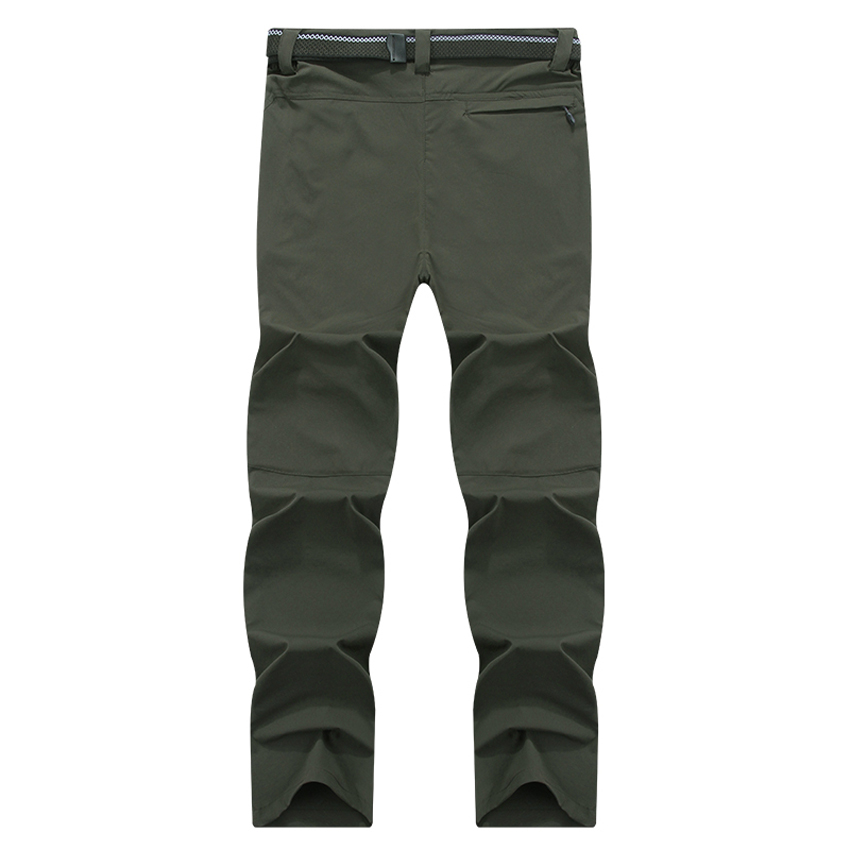 Image 5 - Mountainskin 8XL Men's Summer Quick Dry Softshell Pants Outdoor Elastic Camping Hiking Trekking Fishing Climbing Trousers MA138-in Hiking Pants from Sports & Entertainment