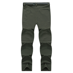 Image 5 - Mountainskin 8XL Mens Summer Quick Dry Softshell Pants Outdoor Elastic Camping Hiking Trekking Fishing Climbing Trousers MA138