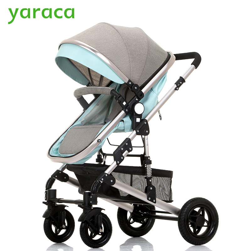 Baby Stroller High Landscape Trolley Baby Car Wheelchair 2 in 1 Prams For Newborns Baby Portable Bassinet Folding Baby Carriage orbit baby люлька колыбель orbit baby g3 bassinet