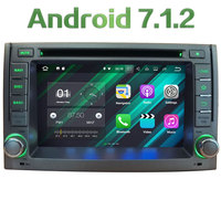 Android 7 1 2 Quad Core 2GB RAM 4G WiFi BT Multimedia Car DVD Player Radio