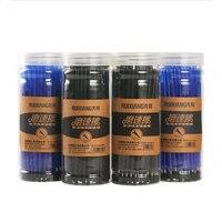 60PC Bag Bullet Friction Easily Rub Neutral Pen Student Erasable Refills Refills Manufacturers Wholesale School Supplies