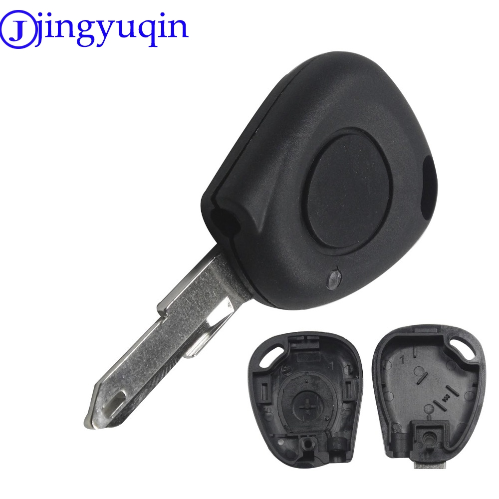 jingyuqin Replacement 1 Button Car Key Shell Stying Cover Blank For Renault Megane Clio Scenic 1 button IR Remote Case Fobjingyuqin Replacement 1 Button Car Key Shell Stying Cover Blank For Renault Megane Clio Scenic 1 button IR Remote Case Fob