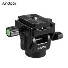 Andoer M 12 Monopod Tilt Kafa Panoramik Kafa Telefoto Kuş Gözlemciliği Quick Release Plaka ile