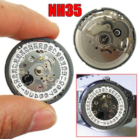 NH35 NH36 High Accuracy Automatic Mechanical Watch Wrist Movement Day Date Set