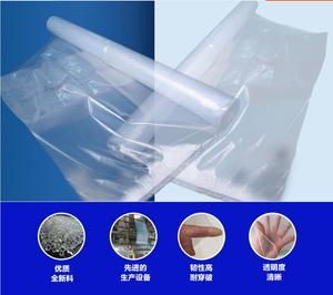Несколько размеров тонкая 60% прозрачная влагостойкая, водонепроницаемая ткань, непромокаемая Брезентовая теплица полупрозрачная пластико...