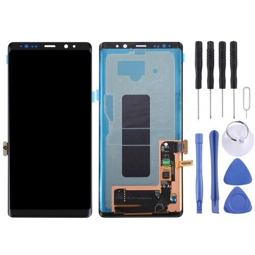 ЖК экран и дигитайзер полная сборка для Galaxy Note 8 (N9500), N950F, N950FD, N950U, U1, N950W, N9500, N950N (черный)