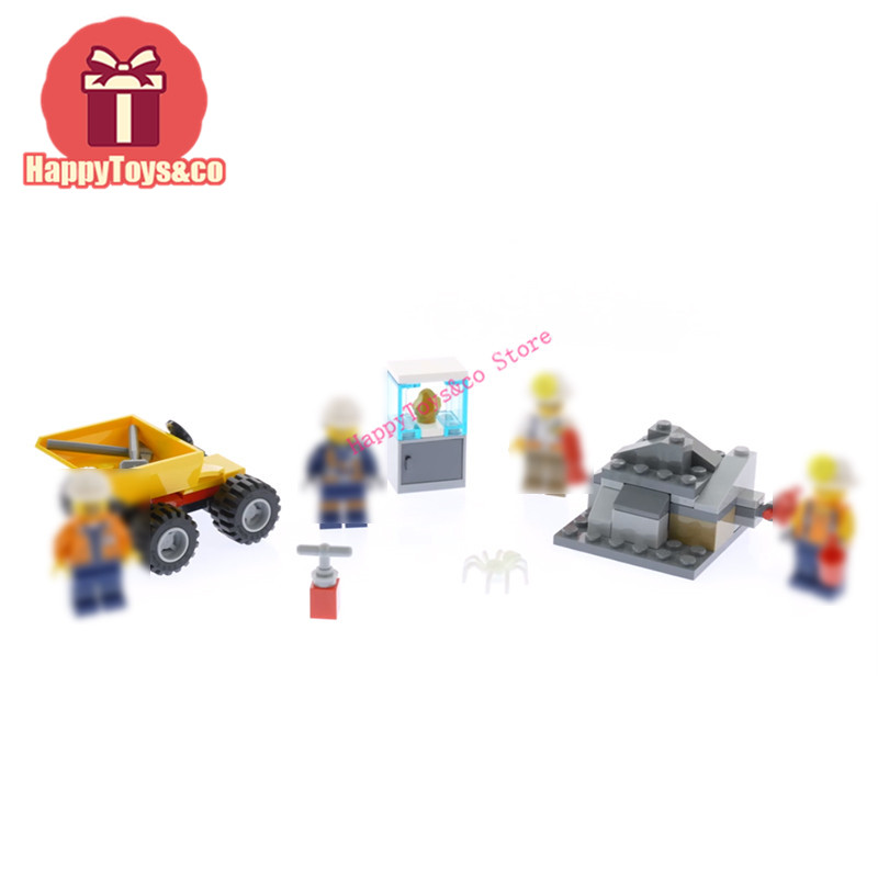 2018 Legoing City series 60184 91Pcs Mining Team toys For Children Gift 02100 Building Blocks Set Compatible Education Site