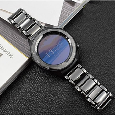 For Samsung Gear S3 S2 Watch Strap Real Ceramics 20-22mm Bracelet Watch Band For Huawei Watch 2 Sport Classic Classic Froniter huawei watch classic серебристый