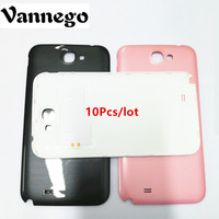 Vannego 10Pcs Lot Back Cover Housing Door For Samsung Galaxy Note 2 N7100 Housing Battery Rear