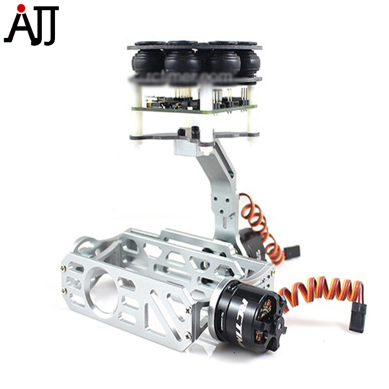 RCTIMER 2-Axis GoPro Camera Brushless Gimbal BG20 with HP2212 Brushless Gimbal Motor цена