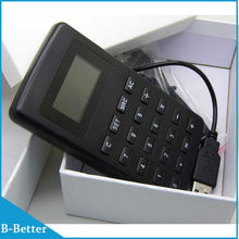Free shipping 1 Piece Mp4 Calculator with E-book Function Multifunction Calculator E-Book Reading Music Video Player